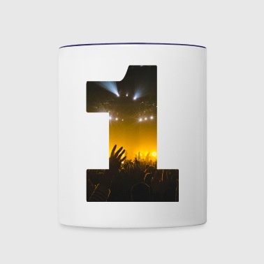 No.1 Concert - Contrast Coffee Mug