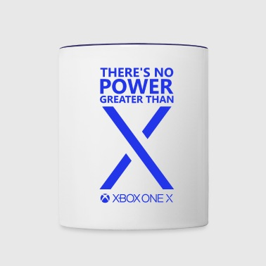 There s No Power Greater Than PS4 - Contrast Coffee Mug