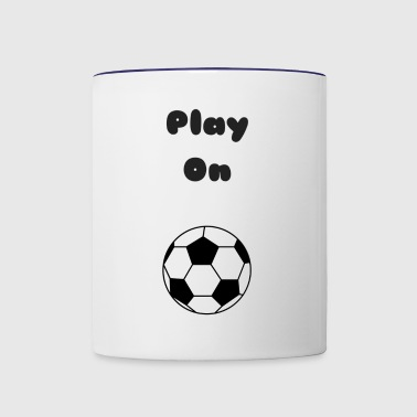 Play On - Contrast Coffee Mug