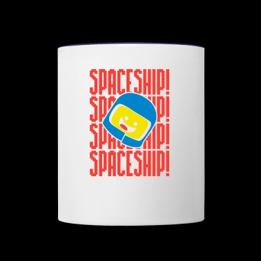 Spaceship - Contrast Coffee Mug