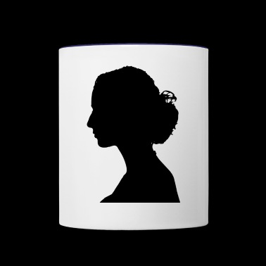 female - Contrast Coffee Mug