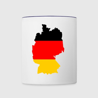 germany - Contrast Coffee Mug
