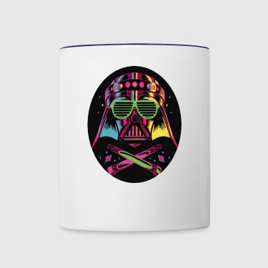 ravers ravers lights - Contrast Coffee Mug