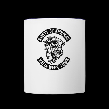 saints of nicholas - Contrast Coffee Mug