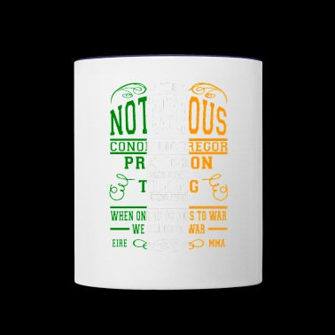 Cool quotes conor - Contrast Coffee Mug
