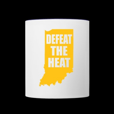 BEAT THE HEAT - Contrast Coffee Mug