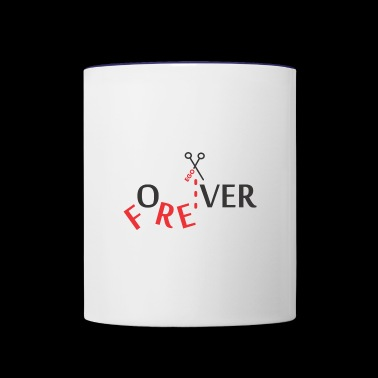 for over - Contrast Coffee Mug