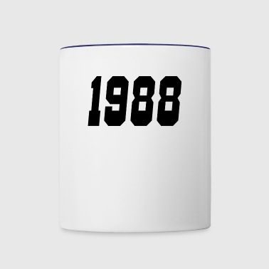 1988 - Contrast Coffee Mug