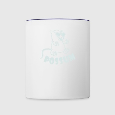Possum - Contrast Coffee Mug