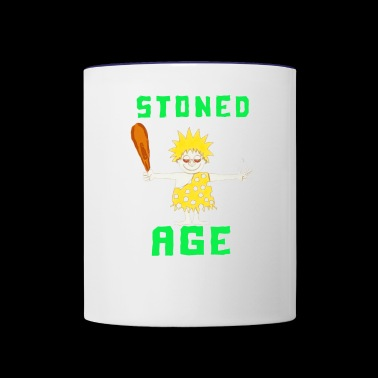 Stoned Age - Contrast Coffee Mug