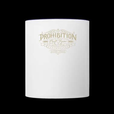 Prohibition gastrohouse - Contrast Coffee Mug