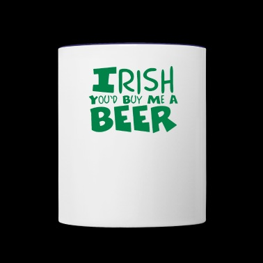 Irish Beer - Contrast Coffee Mug