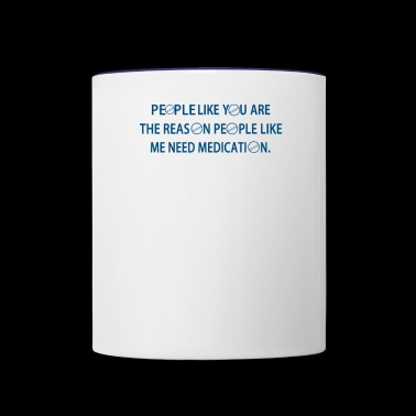 Medication - Contrast Coffee Mug
