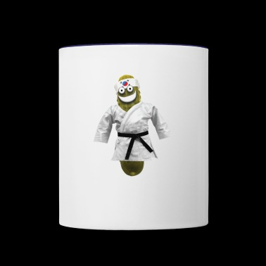 Tae Kwon Do Pickle - Contrast Coffee Mug