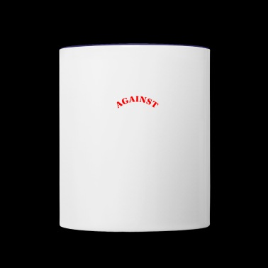 against patch - Contrast Coffee Mug