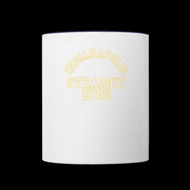Indiana Polis Straight Edge - Contrast Coffee Mug