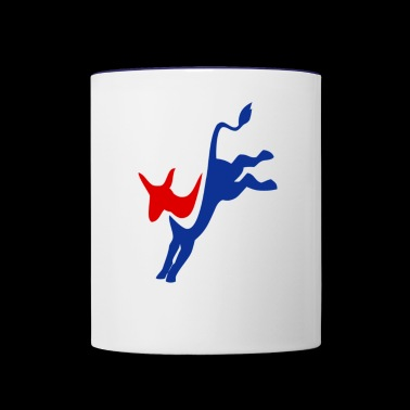 Democrat - Contrast Coffee Mug