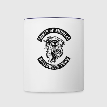 saints of nicholas 2 - Contrast Coffee Mug