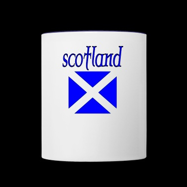 scotland - Contrast Coffee Mug