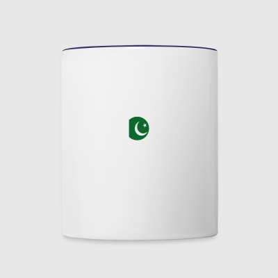 DON T NEED THERAPIE WANT GO PAKISTAN - Contrast Coffee Mug