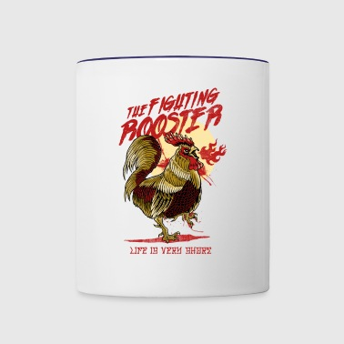 The Rooster - Contrast Coffee Mug
