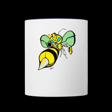 Bumble bee - Contrast Coffee Mug