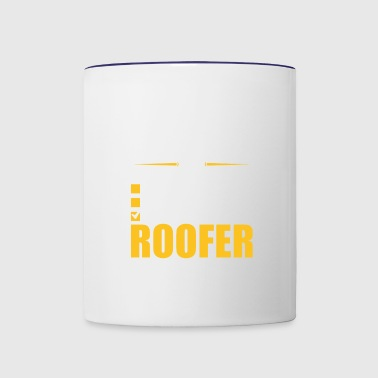 Relationship Status Taken By A Roofer - Contrast Coffee Mug