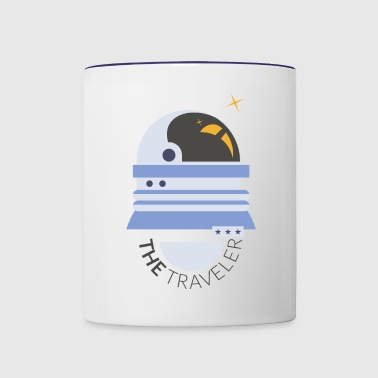 The Space Traveler - Contrast Coffee Mug