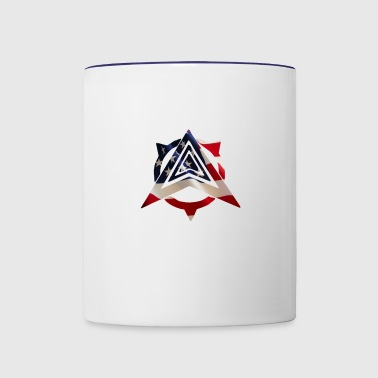 United States Flag - Contrast Coffee Mug