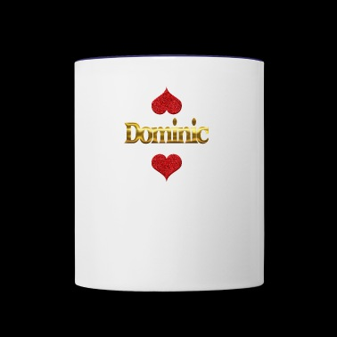 Dominic - Contrast Coffee Mug
