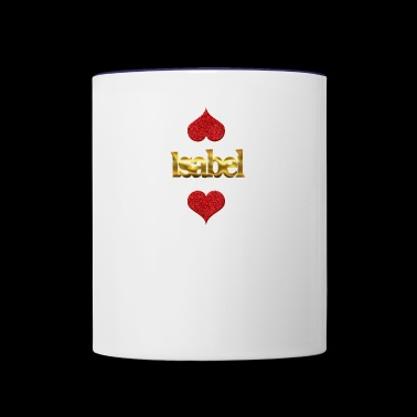 Isabel - Contrast Coffee Mug