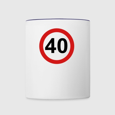 40 - Contrast Coffee Mug