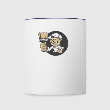 painter - Contrast Coffee Mug