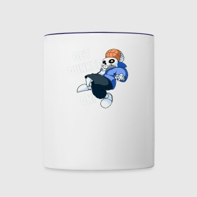 Sans Undertale GET DUNKED ON - Contrast Coffee Mug