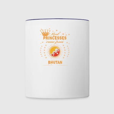 love princesses come from BHUTAN - Contrast Coffee Mug