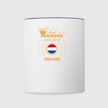 love princesses come from HOLLAND - Contrast Coffee Mug