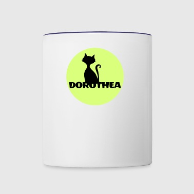 Dorothea first name - Contrast Coffee Mug