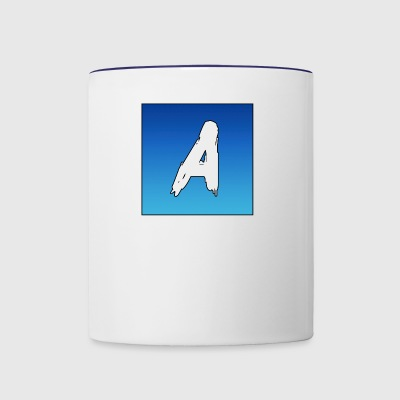 The Letter A - Contrast Coffee Mug