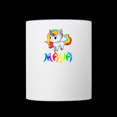 Maya Unicorn - Contrast Coffee Mug