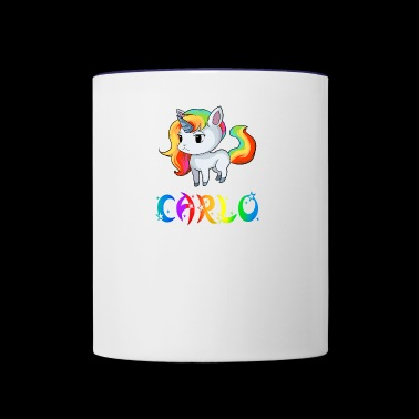 Carlo Unicorn - Contrast Coffee Mug