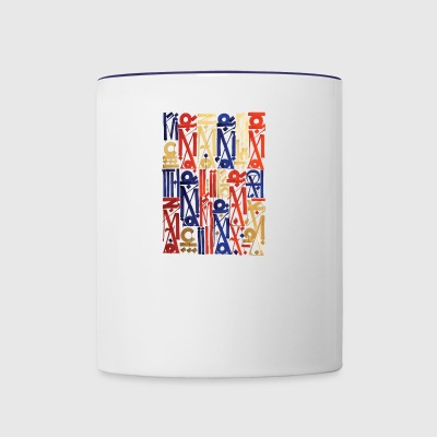 writing1 - Contrast Coffee Mug