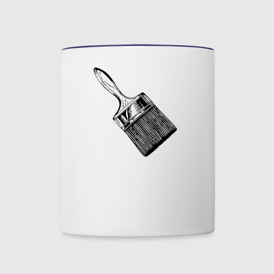 brush - Contrast Coffee Mug