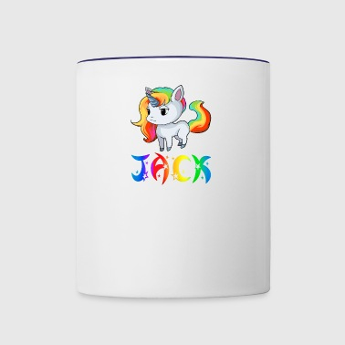 Jack Unicorn - Contrast Coffee Mug