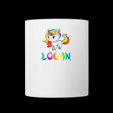 Logan Unicorn - Contrast Coffee Mug