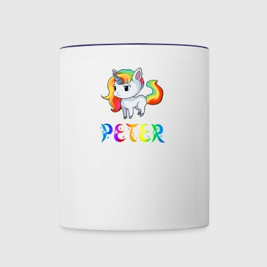 Peter Unicorn - Contrast Coffee Mug