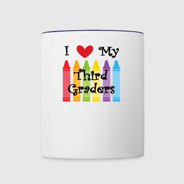 Third grade teacher - Contrast Coffee Mug