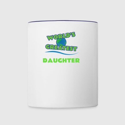 DAUGHTER - Contrast Coffee Mug