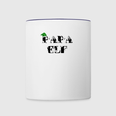 papa elf - Contrast Coffee Mug