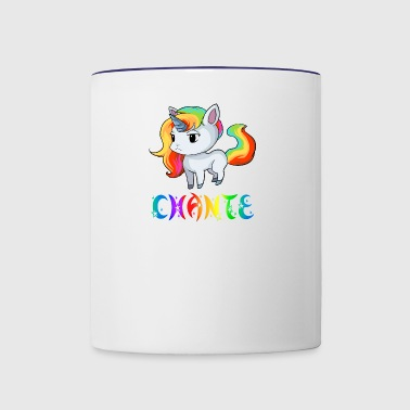 Chante Unicorn - Contrast Coffee Mug