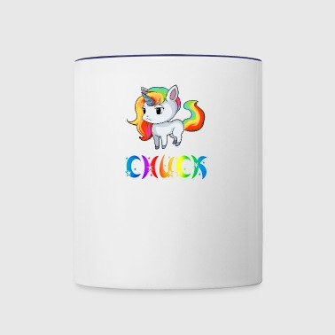 Chuck Unicorn - Contrast Coffee Mug